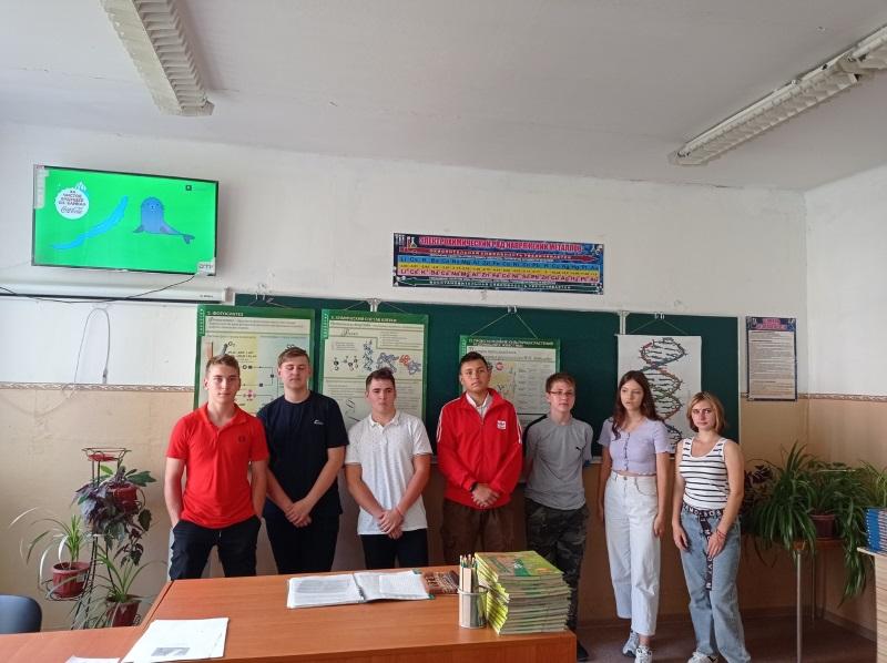 Проведение Всероссийского экологического  урока   «За чистое будущее озера Байкал»